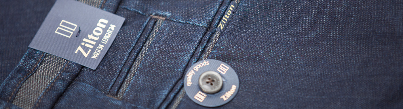 Jeans flatfront